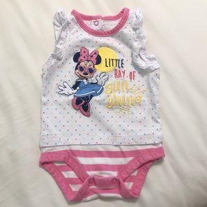 EUC Disney onesie